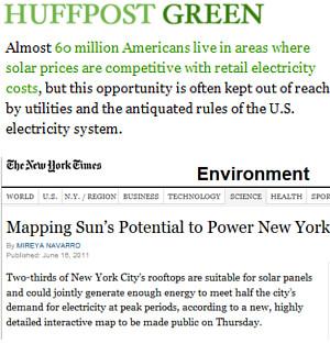 住所を入所するだけで太陽光発電力がすぐ分かるNYC Solar Map_b0007805_0571679.jpg