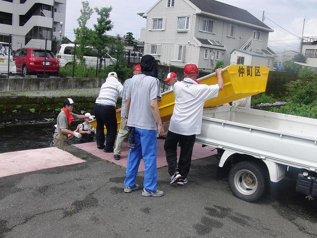 平成23年度水資源功績者表彰受賞・・・第25回田宿川たらい流し川祭り_f0141310_752537.jpg