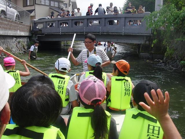 平成23年度水資源功績者表彰受賞・・・第25回田宿川たらい流し川祭り_f0141310_7561754.jpg
