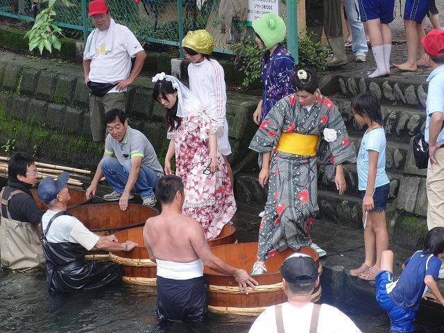 平成23年度水資源功績者表彰受賞・・・第25回田宿川たらい流し川祭り_f0141310_7565070.jpg