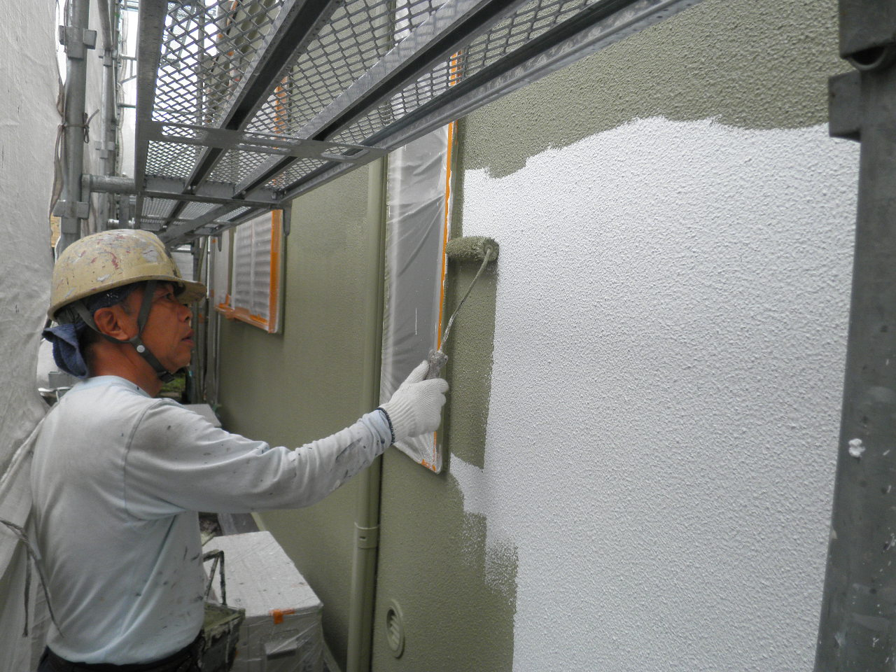 戸建塗装工事11_e0164638_17314070.jpg