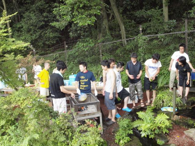 2011夏BBQ~やっぱり冷たかった柿田川~_a0079474_2222459.jpg