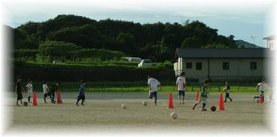 7月のサッカー教室_c0218303_16184378.jpg