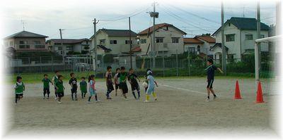 7月のサッカー教室_c0218303_1619011.jpg