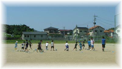 7月のサッカー教室_c0218303_1623429.jpg