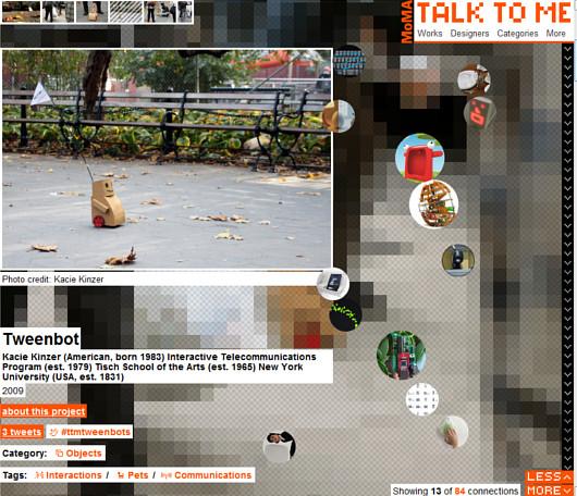 テクノロジーとデザインは人間に何を語りかけるのか?MoMAのTalk to Me展_b0007805_12272872.jpg