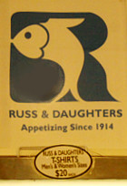 ニューヨークNo1の老舗アペタイザー屋さん、Russ & Daughters_b0007805_7332322.jpg