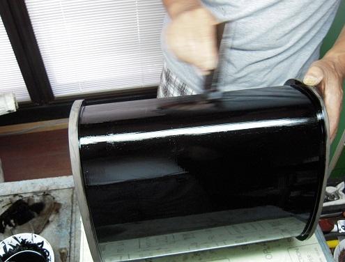 厨子 塗りと呂色 2011.08.01_c0213599_0282992.jpg