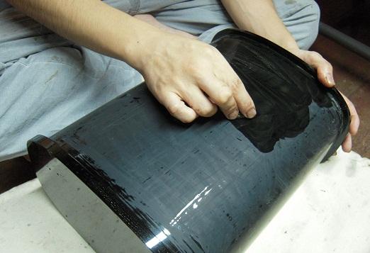 厨子 塗りと呂色 2011.08.01_c0213599_033431.jpg