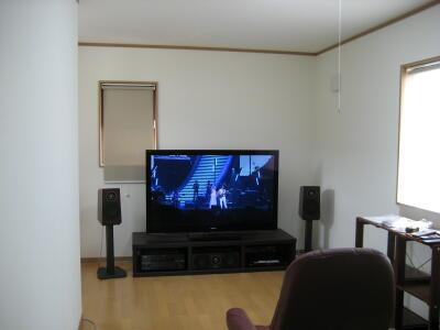 テレビと言っても油断しない。。AVは設置&設定がポイント☆_c0113001_23533944.jpg