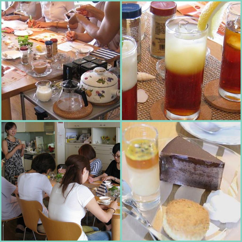 夏の特別講座 1Day紅茶レッスン終了♪_b0107003_10475160.jpg