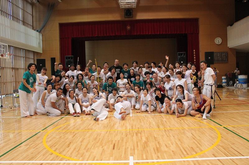Capoeira de Saia BARRAVENTO サンバヘギWS_d0172033_16423633.jpg