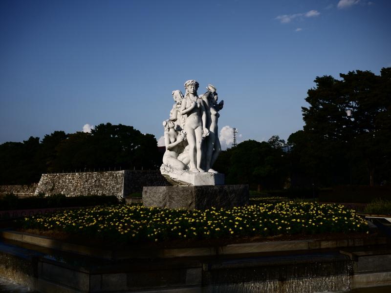 夕暮れの公園_b0190540_22291864.jpg
