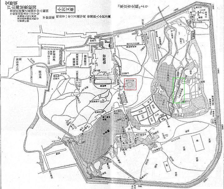 尾張藩下屋敷 戸山荘 : 江戸・東京ときどきロンドン
