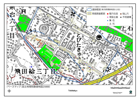 ジョウモン・リージョナル 飛田給遺跡の微視的構成_a0186568_2126883.jpg