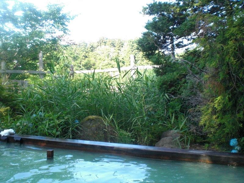 夏の津軽(6)野趣溢れる野天風呂@嶽温泉山楽_c0013687_632568.jpg