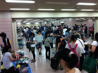 MOTTAINAIフリーマーケット開催報告@池袋サンシャイン/クリネックススタジアム宮城_e0105047_1653060.jpg