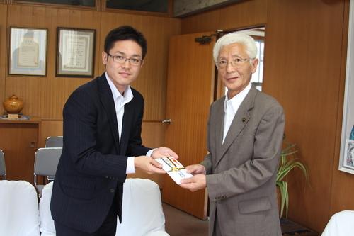 田中建設企業グループが十和田市子ども夢チャレンジ基金へ現金を寄附_f0237658_13493045.jpg