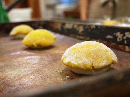 ミントのパンでマンゴーアレンジ!_e0167593_1115856.jpg