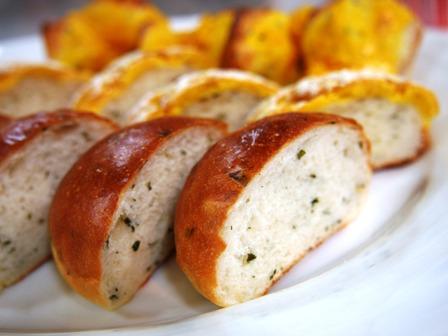 ミントのパンでマンゴーアレンジ!_e0167593_1132917.jpg