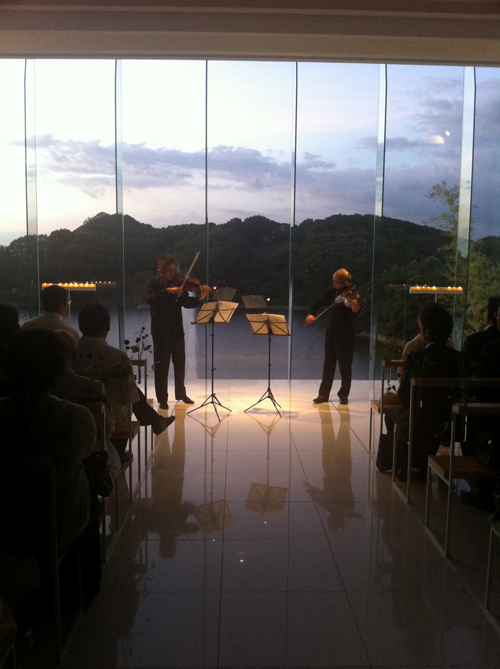 8月3日 Tobe auberge resort summer dinner concert_e0203309_23224458.jpg