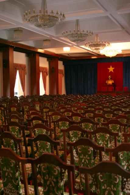 ホーチミン  統一会堂(旧大統領府)_b0061717_4322293.jpg
