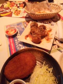 カラオケの料理!_e0114246_1321642.jpg