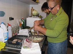 サルデーニャ回想記、マダムフランカの料理レッスン_a0154793_21303551.jpg