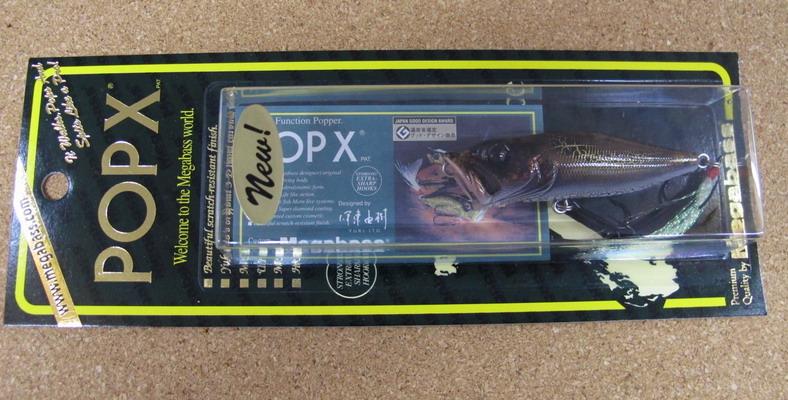 メガバス Pop-X & Pop-MAX NEW COLOR_a0153216_12502037.jpg