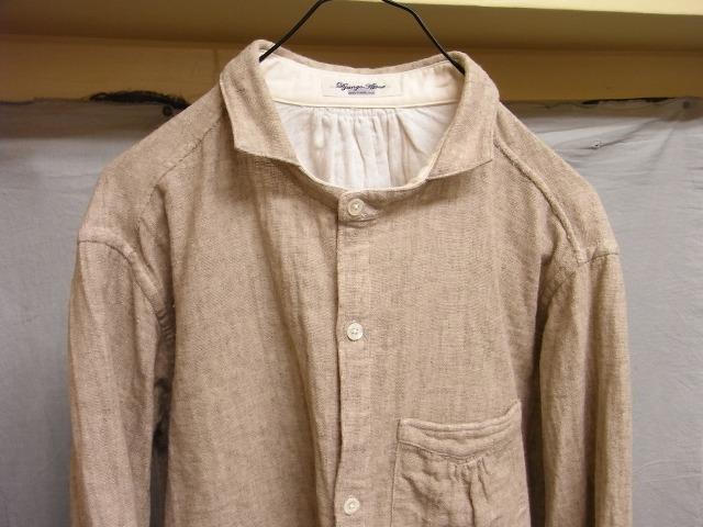 classic frenchwork cottonlinen shirt_f0049745_18351529.jpg