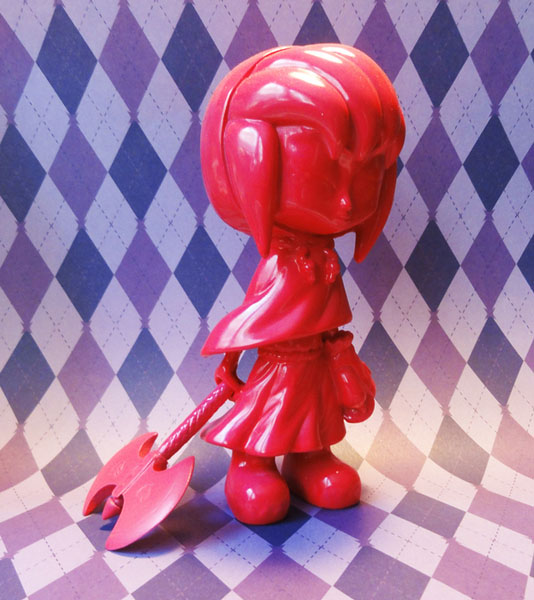 Little Axe Pink Charity Figure by Erick Scarecrow_e0118156_20521341.jpg