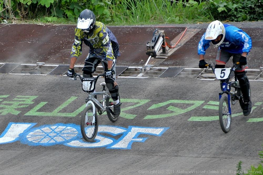 JOSF緑山8月定期戦VOL4:BMXマスターズ決勝_b0065730_21174364.jpg