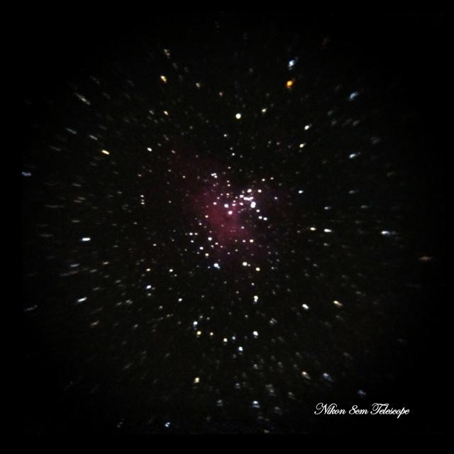 星のゆりかご M16散開星団_b0167343_12102986.jpg