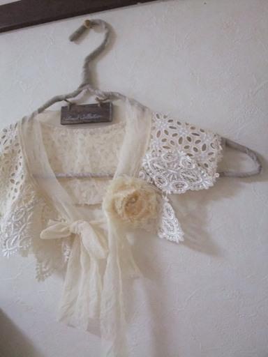 第14回 ロハスフェスタで購入したもの 付け襟&サンダル_d0246960_191123.jpg