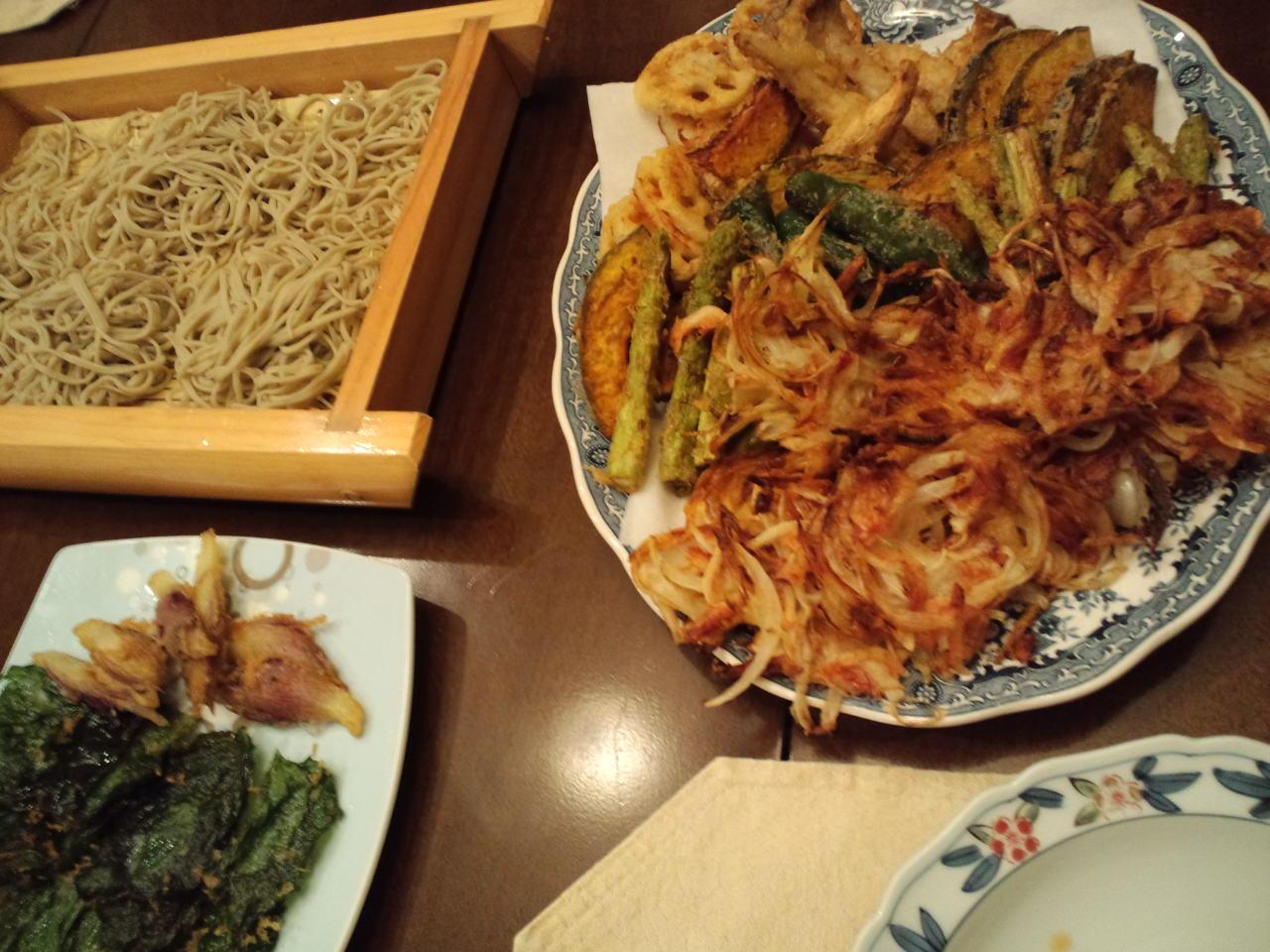 家で蕎麦っ_c0151965_21184331.jpg