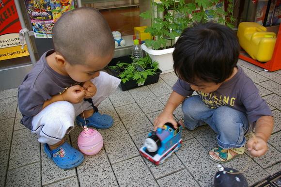 ブルーベリー狩り/ Blueberry picking_a0186568_16574815.jpg