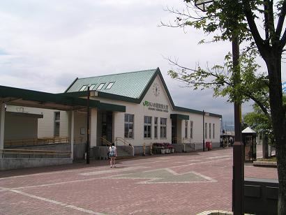 あいの里の玄関口:JR「あいの里教育大駅」_f0078286_9275079.jpg