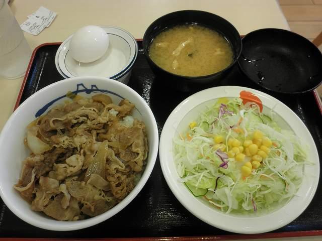 松屋の牛めし 箕面店_c0118393_18432118.jpg