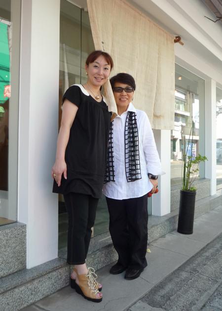 ショップチャンネルのキャスト、長谷川香子さんがご来店くださいました!_c0145608_1355098.jpg