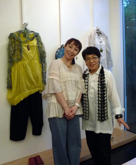 ショップチャンネルのキャスト、長谷川香子さんがご来店くださいました!_c0145608_1355895.jpg