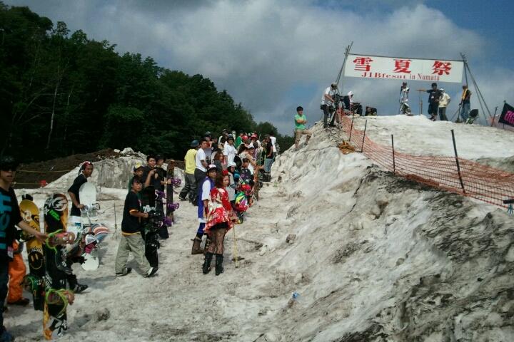 雪夏祭 2011 沼田町は米どころ_e0173533_10163279.jpg
