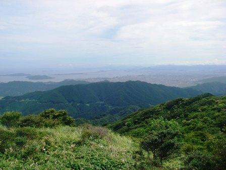 井原山 水無鍾乳洞コース オオキツネノカミソリ_e0014756_12481111.jpg