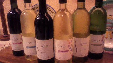 新作「Serena」ワイン入荷しました!_d0118071_1117593.jpg