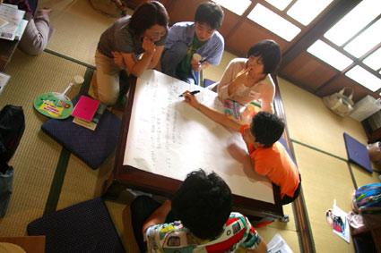 日本家屋でチームメイドデザイン_f0127806_1054575.jpg