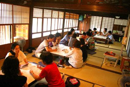 日本家屋でチームメイドデザイン_f0127806_956409.jpg