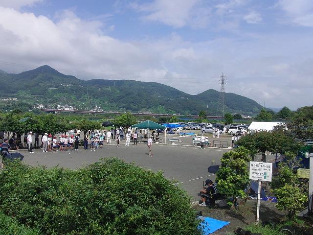 「目指せ!なでしこジャパン」 暑い中でのジュニアゲートボール大会_f0141310_713150.jpg