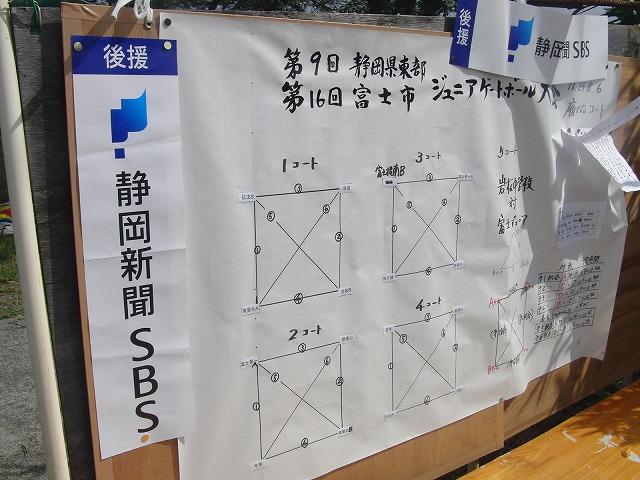 「目指せ!なでしこジャパン」 暑い中でのジュニアゲートボール大会_f0141310_7133272.jpg