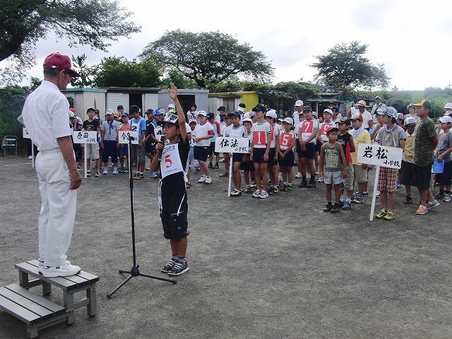 「目指せ!なでしこジャパン」 暑い中でのジュニアゲートボール大会_f0141310_714019.jpg