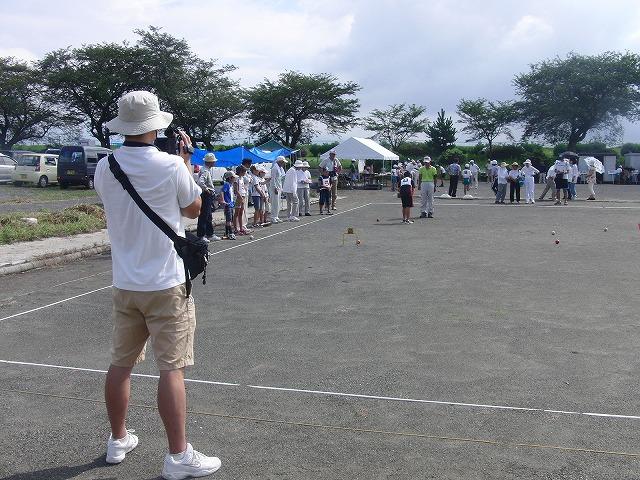 「目指せ!なでしこジャパン」 暑い中でのジュニアゲートボール大会_f0141310_7144723.jpg