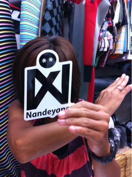 チーム nandeyanen ステッカー!_f0039672_204855.jpg